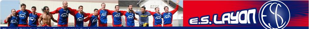 Site Internet officiel du club de football Entente Sportive du Layon