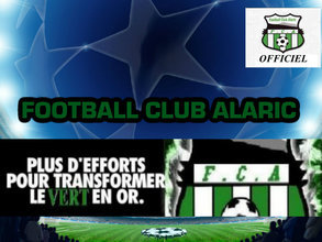 Site Internet officiel du club de football ALARIC F.C