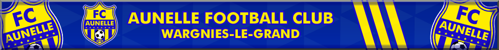 Aunelle Football Club : site officiel du club de foot de WARGNIES LE GRAND - footeo