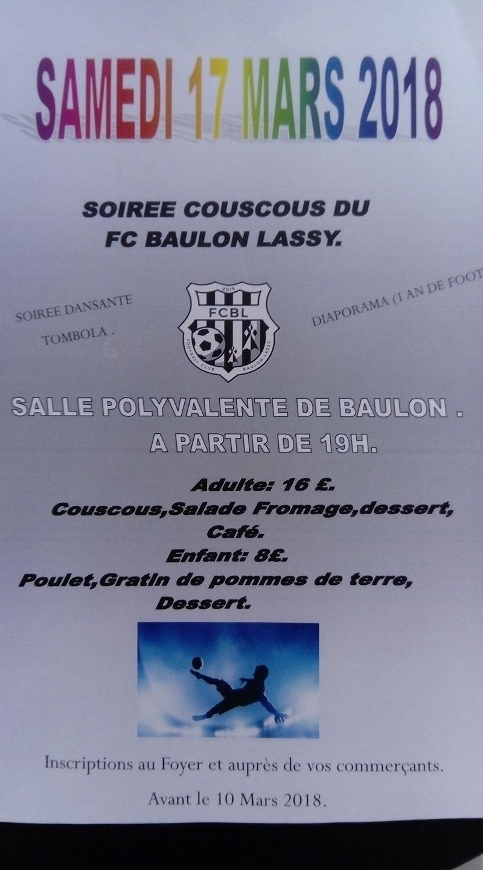 Soirée Club 17 Mars