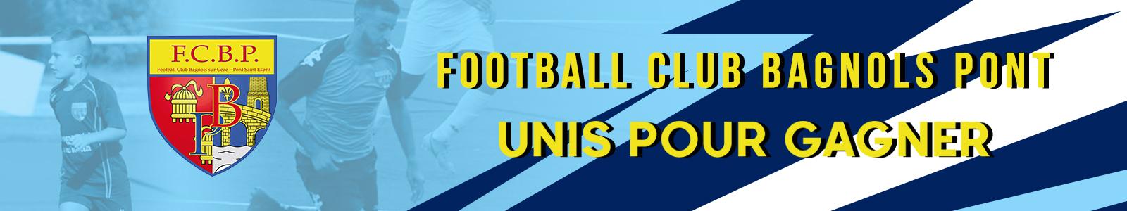 FC BAGNOLS PONT : site officiel du club de foot de PONT ST ESPRIT - footeo