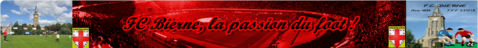 Site Internet officiel du club de football football club biernois