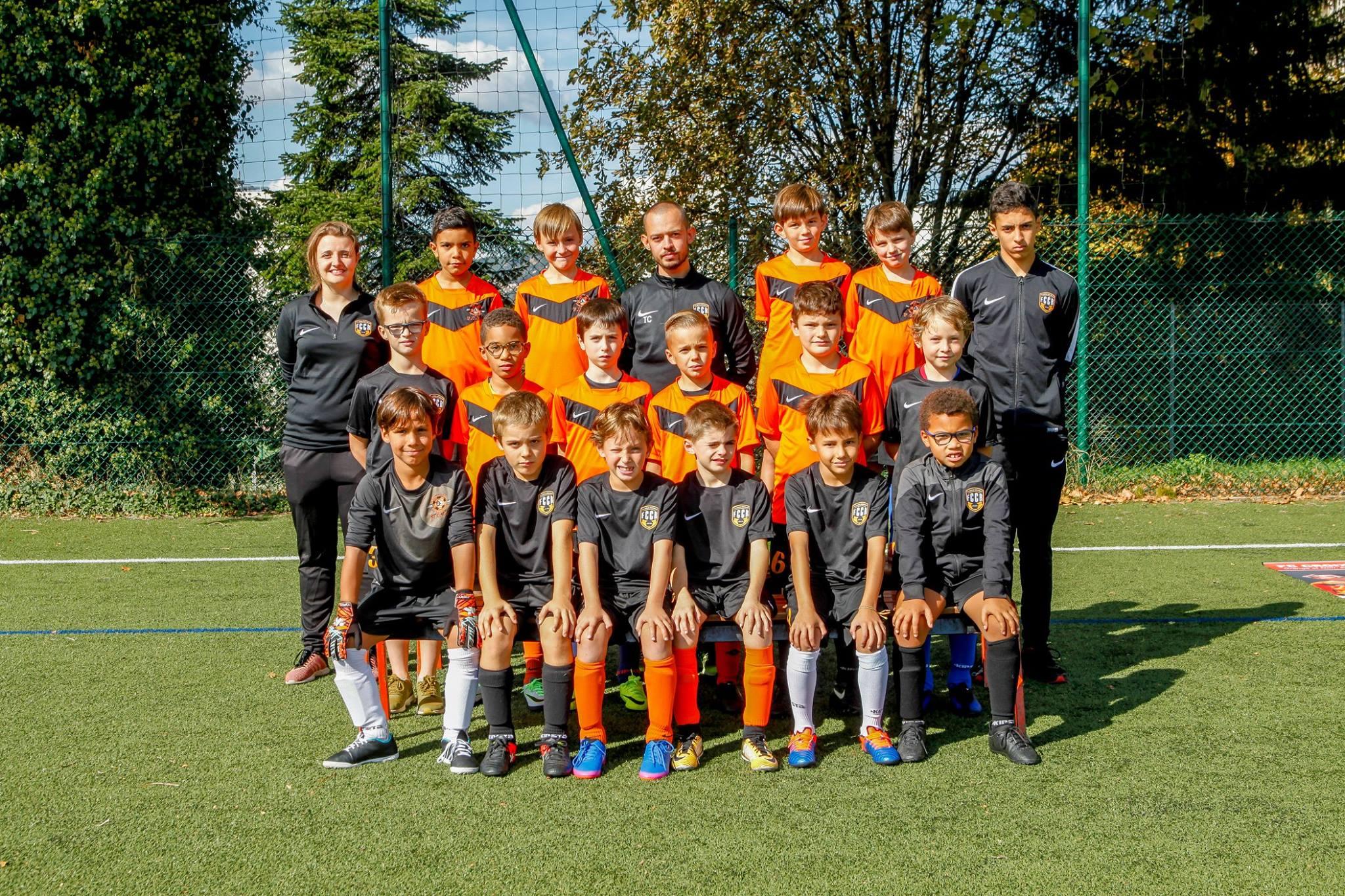 Groupe U9 2017-2018