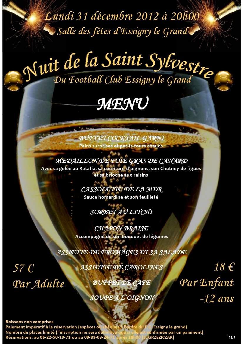 Affiche Saint Sylvestr...