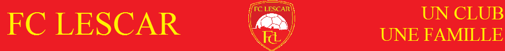 Football Club Lescarien : site officiel du club de foot de LESCAR - footeo