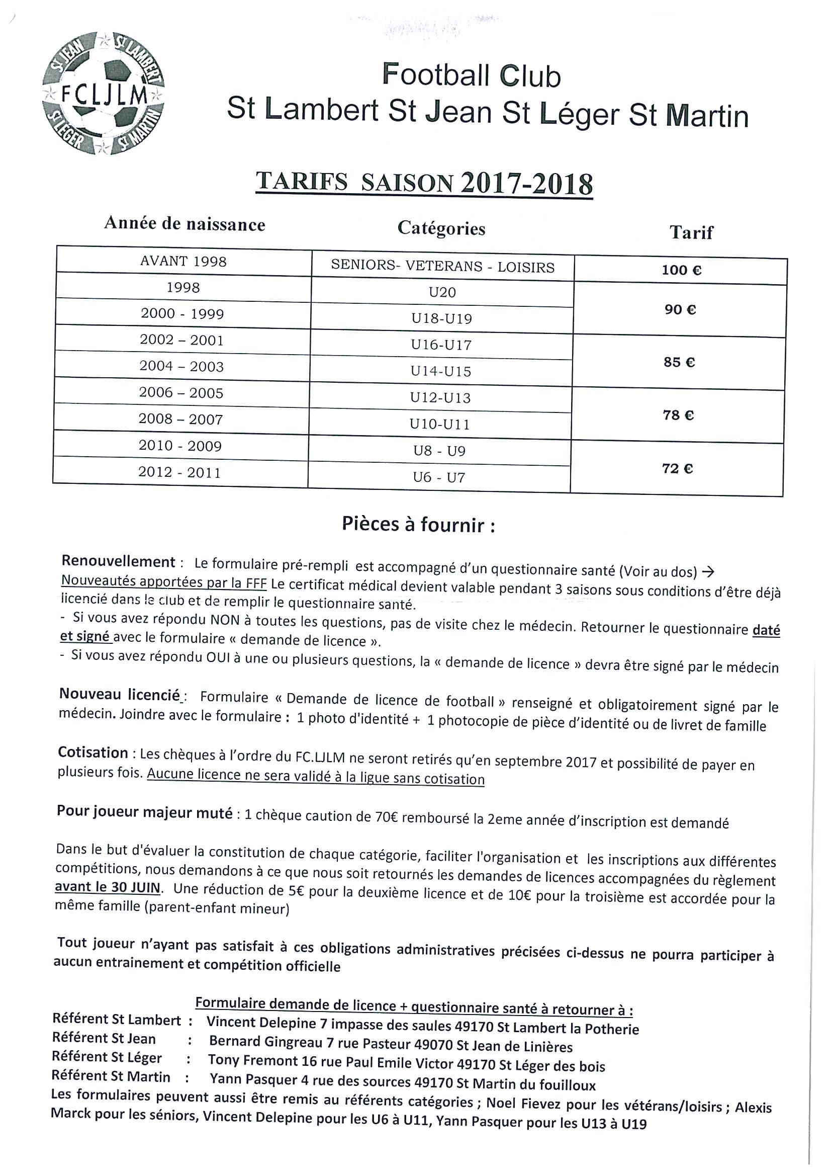 Tarifs Licence FC LJLM 2017 2018.jpg