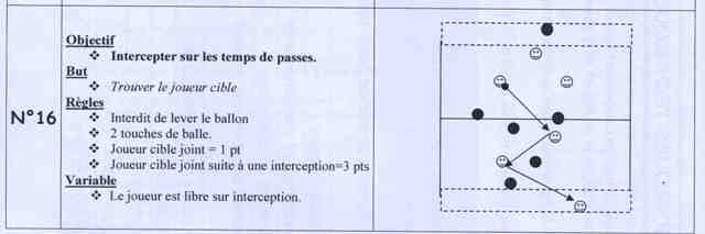 Intercepter sur les temps de passes
