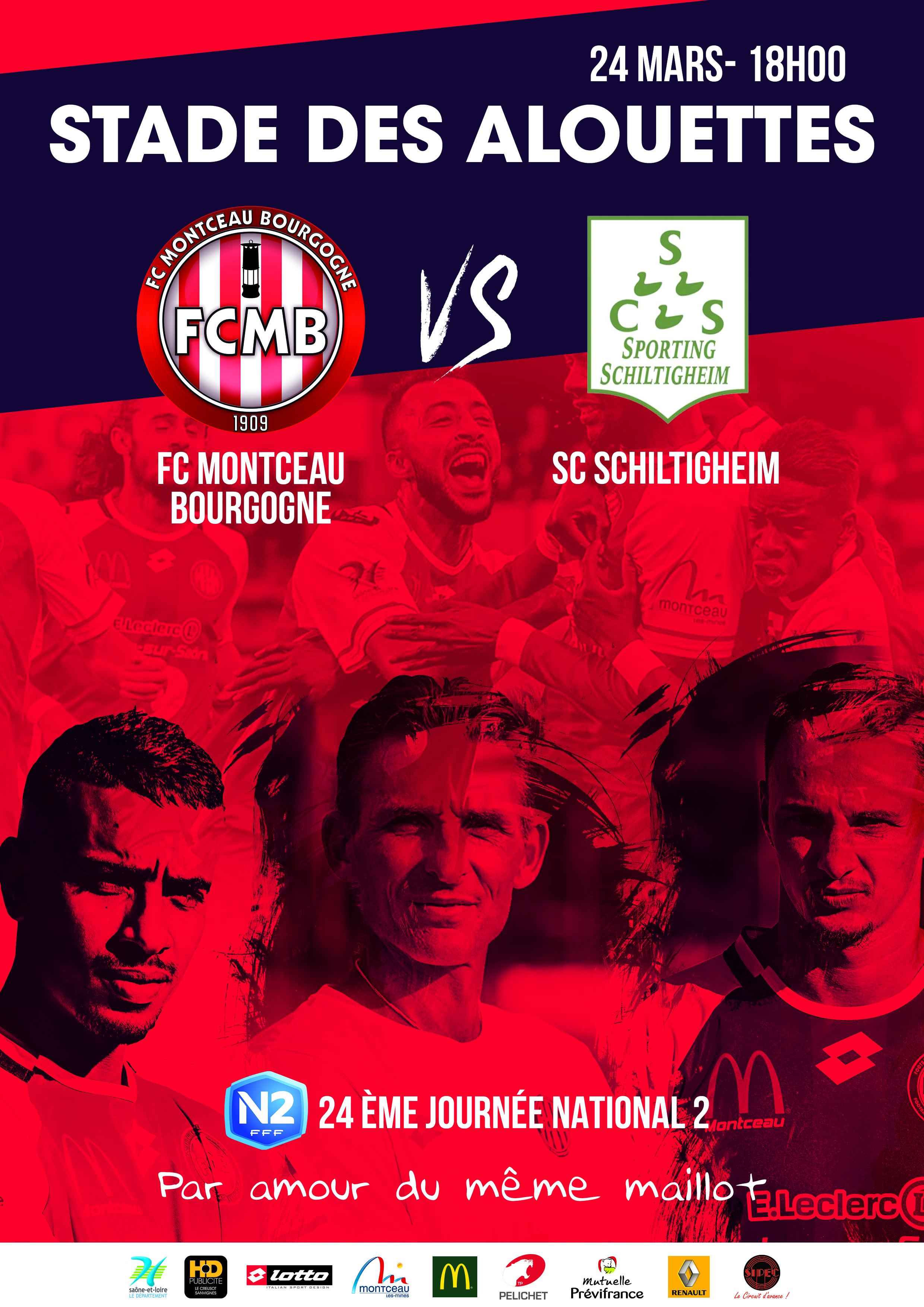 Affiche match FCMB