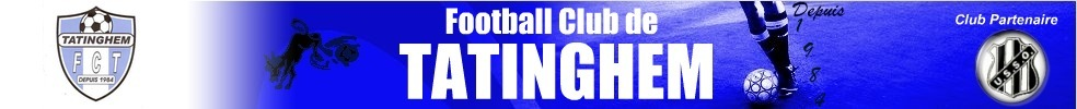 Site Internet officiel du club de football FOOTBALL CLUB DE TATINGHEM