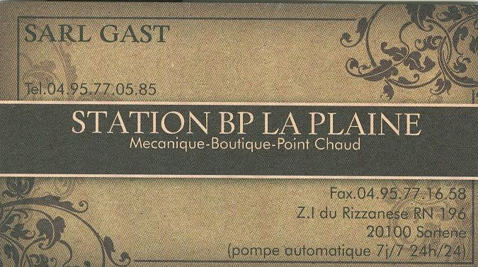 STATION BP LA PLAINE