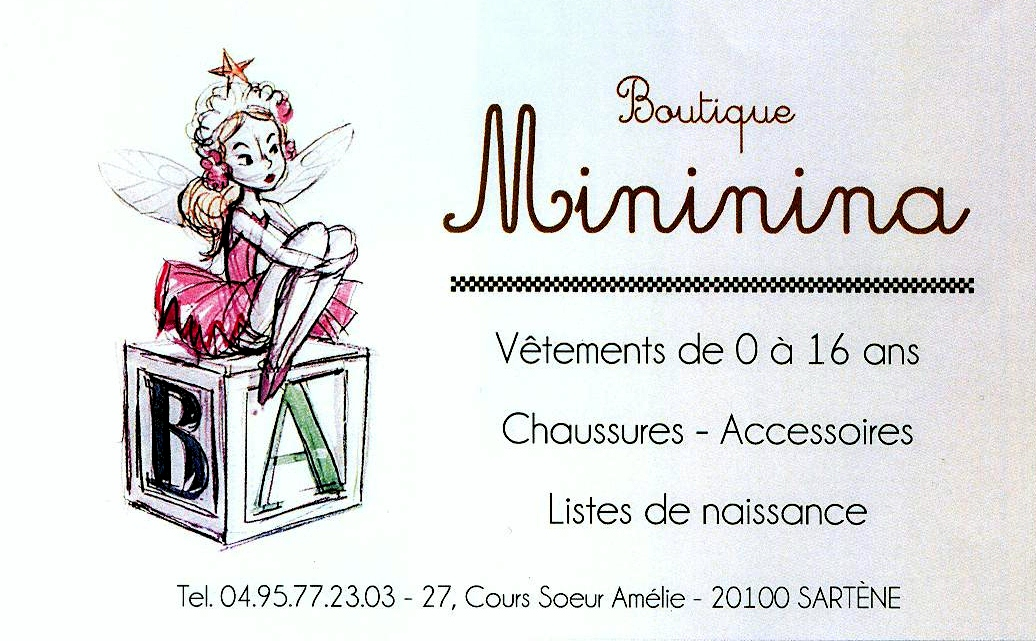 BOUTIQUE MINININA