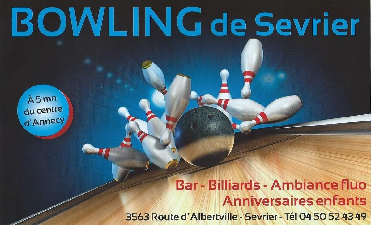 anniversaire bowling sevrier