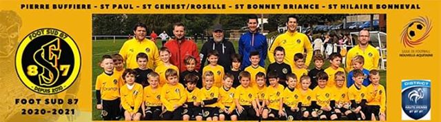 FOOT SUD 87 : site officiel du club de foot de PIERRE BUFFIERE - footeo