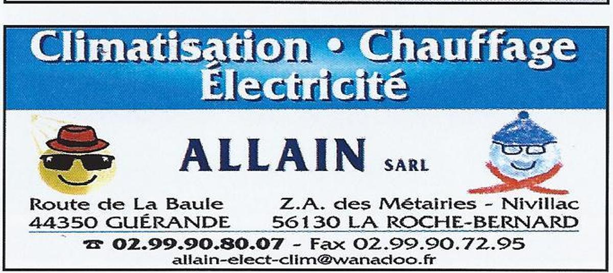 ALLAIN PHILIPPE CLIMATISATION ELECTRICITE NIVILLAC