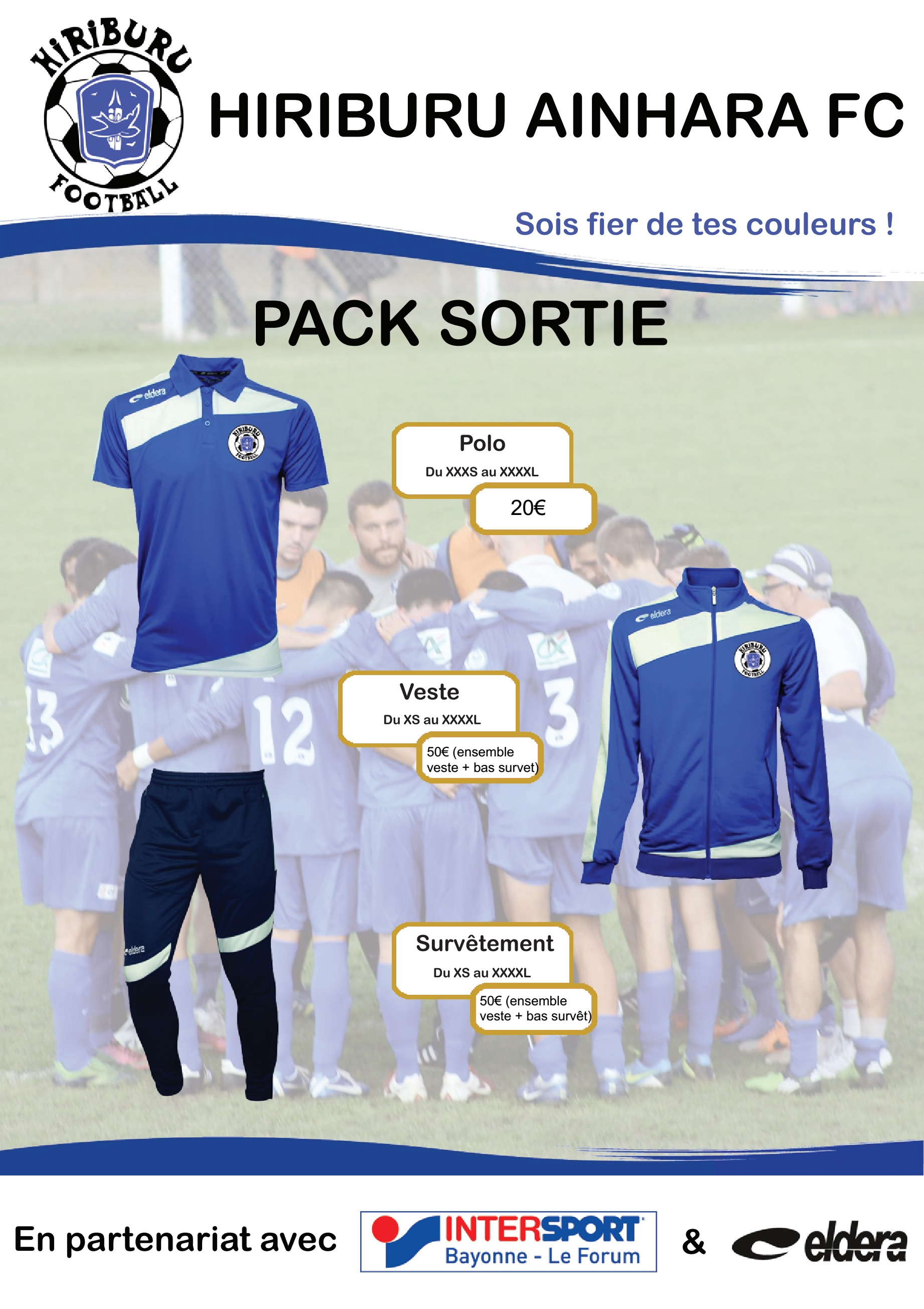 Pack Sortie