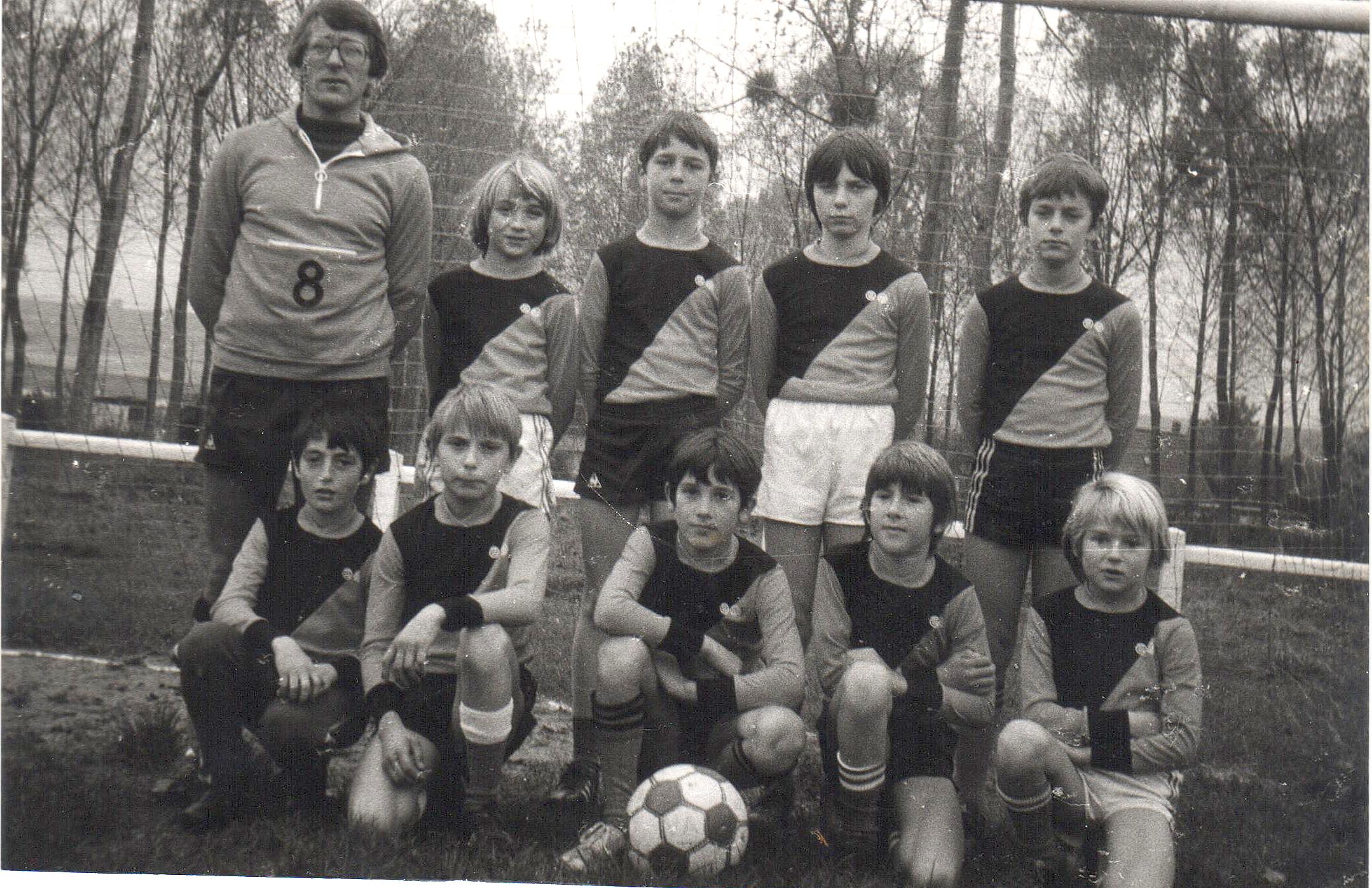Pupilles à 7 - Saison 1980/1981