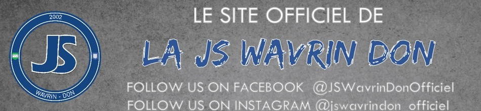 JS WAVRIN DON : site officiel du club de foot de WAVRIN - footeo