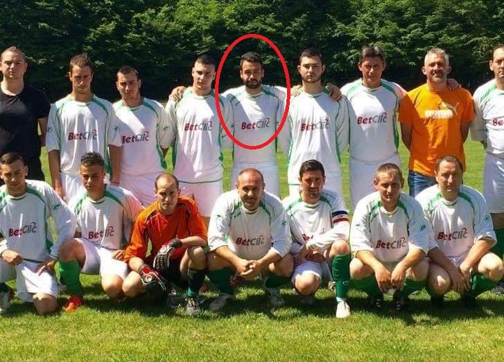 Antoine sous les couleurs du FC Jouet