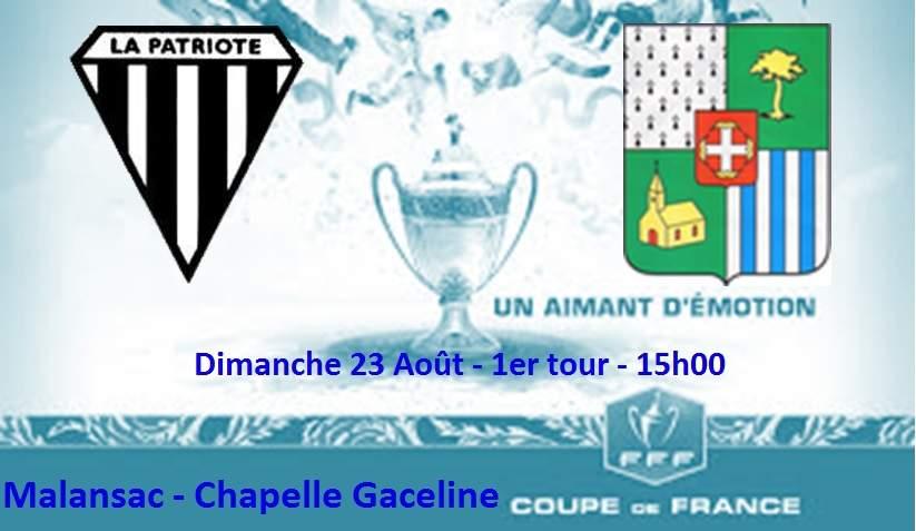 Actualit coupe de france 1er tour dimanche 23 club football la patriote malansac footeo - Coupe de france 1er tour ...