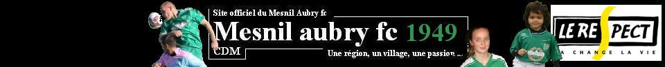 MESNIL AUBRY FC : site officiel du club de foot de LE MESNIL AUBRY - footeo