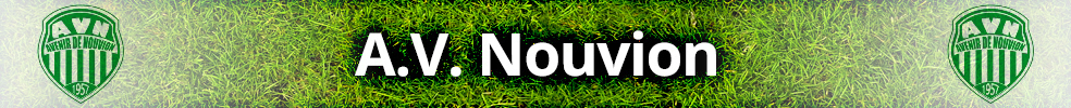 Site Internet officiel du club de football Nouvion AV