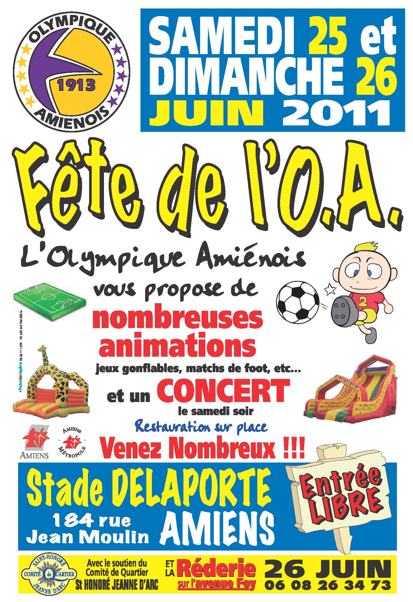 Fête OA 2011