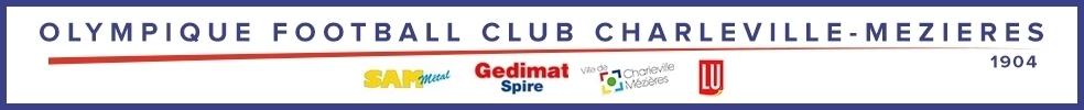 Site Internet officiel du club de football OLYMPIQUE FOOTBALL CLUB DE CHARLEVILLE - MEZIERES