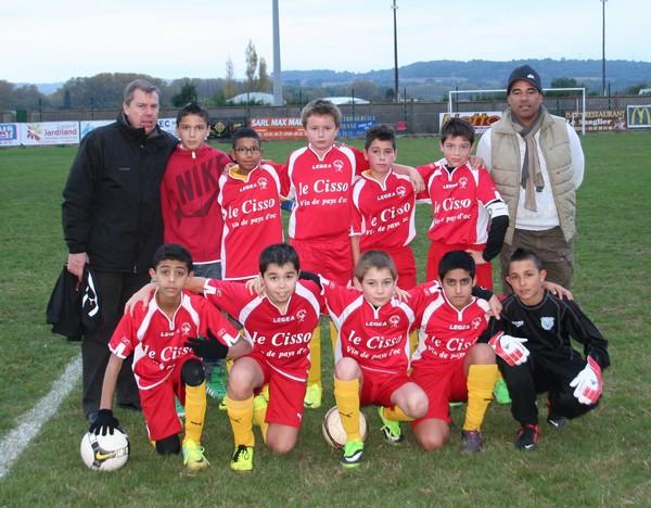 Equipe U13 Lin Paulhan