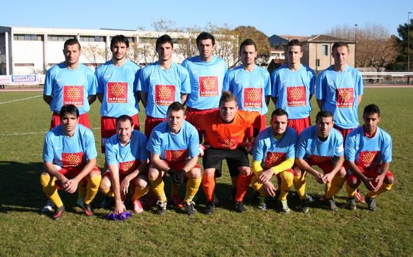 Equipe victorieuse de Bagnols en coupe