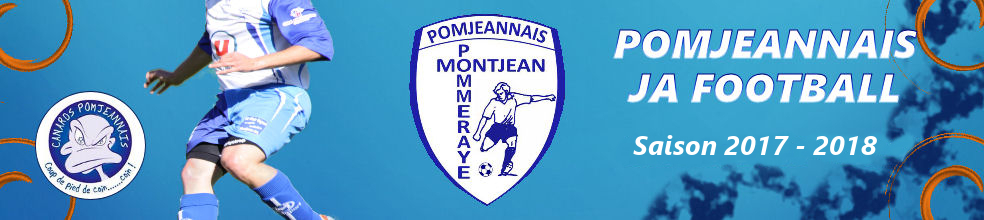 Site Internet officiel du club de football POMJEANNAIS J.A FOOTBALL