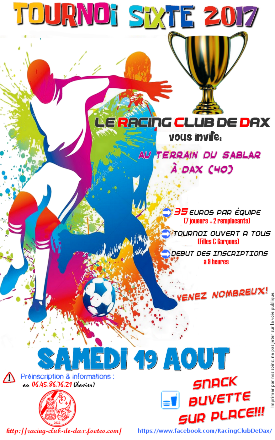 tournoi de sixte racing club de dax