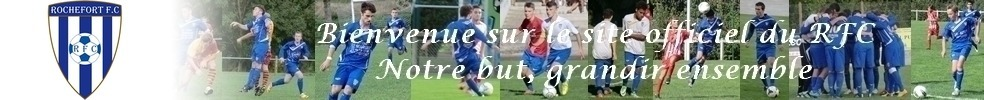 Site Internet officiel du club de football ROCHEFORT FC