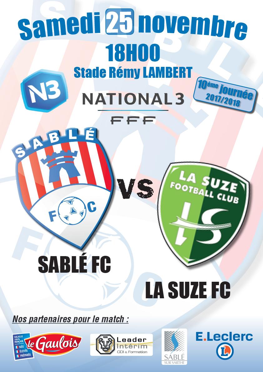 Affiche  Sable FC VS La Suze FC.jpg