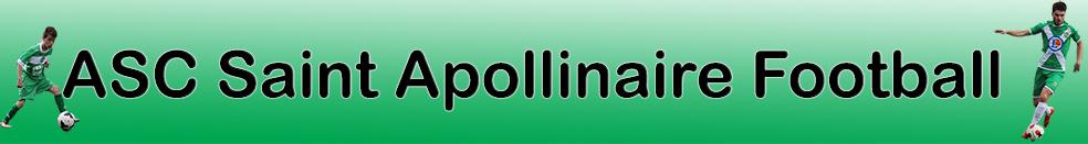 ASC Saint Apollinaire Football : site officiel du club de foot de Saint-Apollinaire - footeo