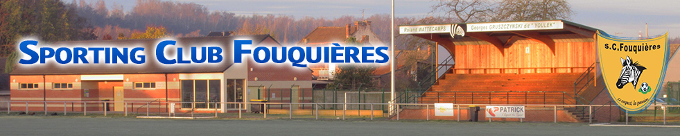Sporting-Club Fouquièrois : site officiel du club de foot de FOUQUIERES LES LENS - footeo