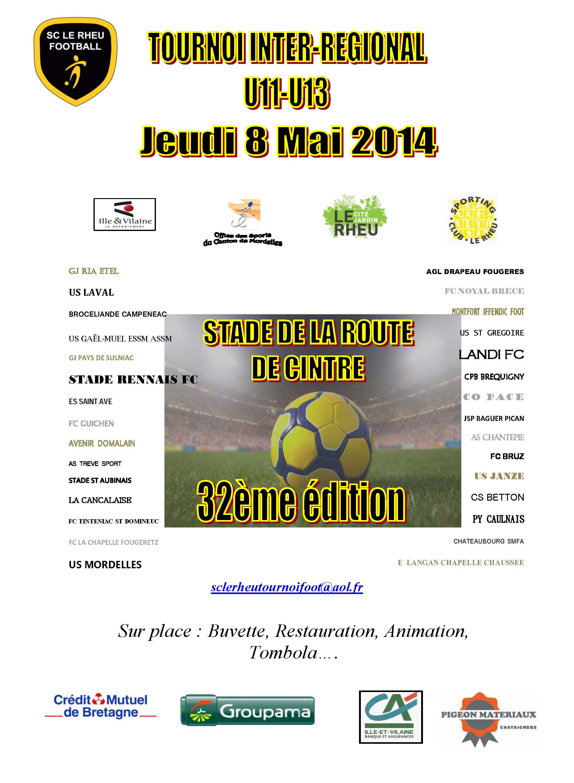 tournoi 2014