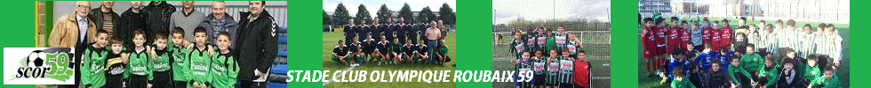 STADE CLUB OLYMPIQUE ROUBAIX 59 : site officiel du club de foot de HEM - footeo