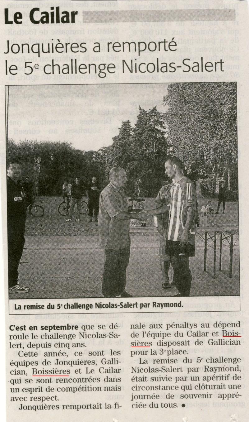 tournoi cailar 2009