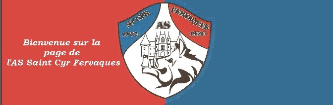 AS SAINT CYR FERVAQUES : site officiel du club de foot de ST CYR DU RONCERAY - footeo