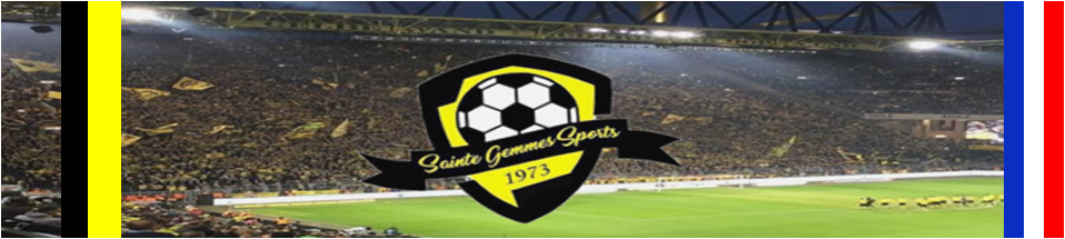 Site Internet officiel du club de football Ste Gemmes Sport