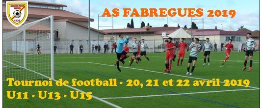 AS FABREGUES : site officiel du tournoi de foot de  - footeo