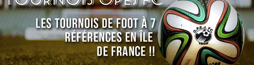Tournoi OPEJ FC foot à 7 : site officiel du tournoi de foot de CHAMPIGNY SUR MARNE - footeo
