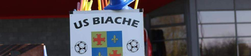 Site Internet officiel du club de football Union Sportive Biachoise