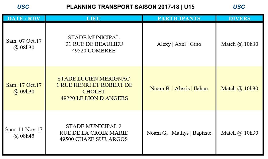 PlannigTransportU15-Ph1-2017-18