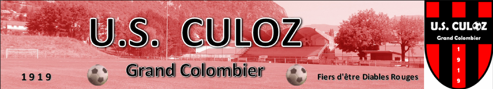 Grand Colombier Football : site officiel du club de foot de CULOZ - footeo