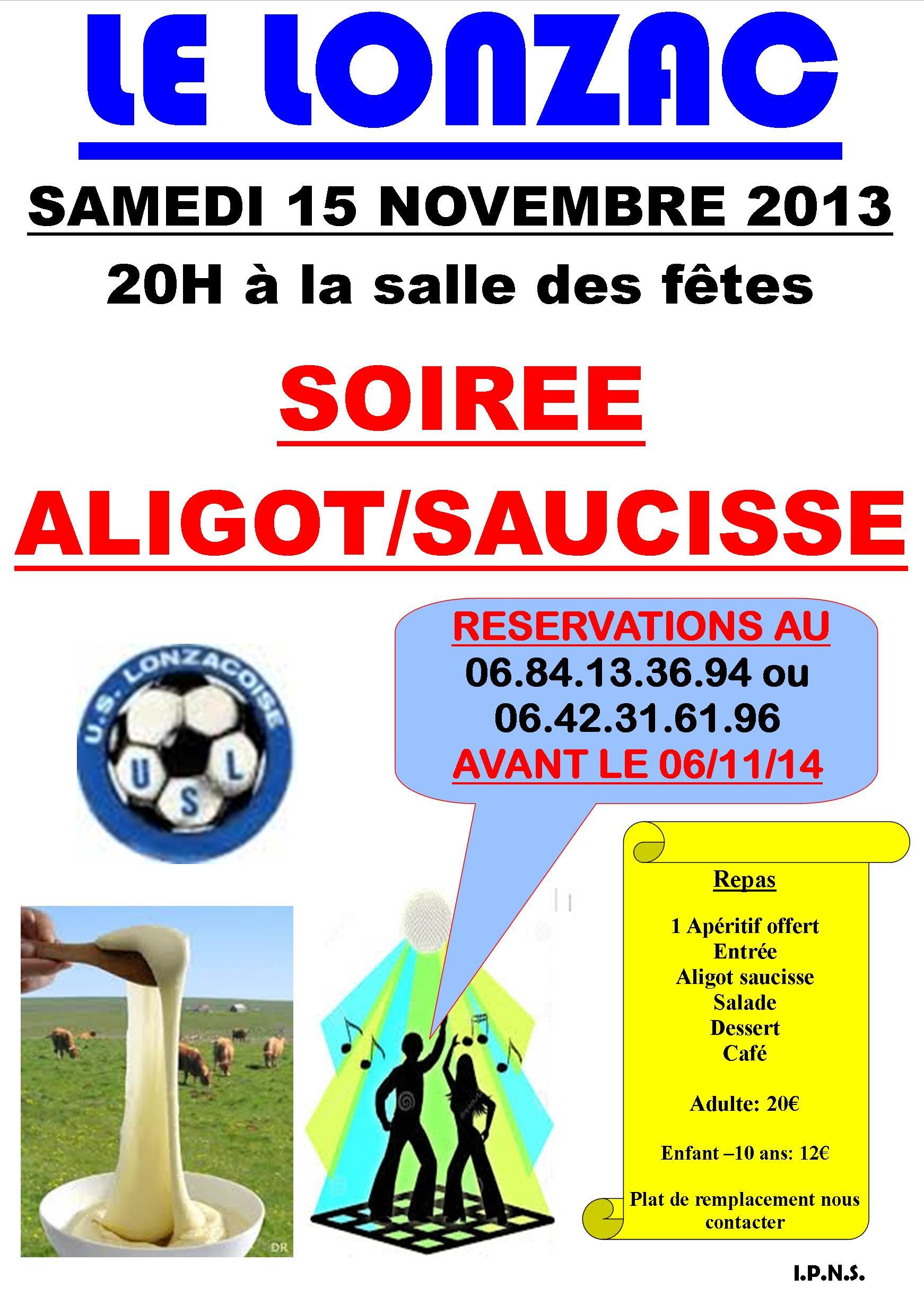 SOIREE ALIGOT SAUCISSE