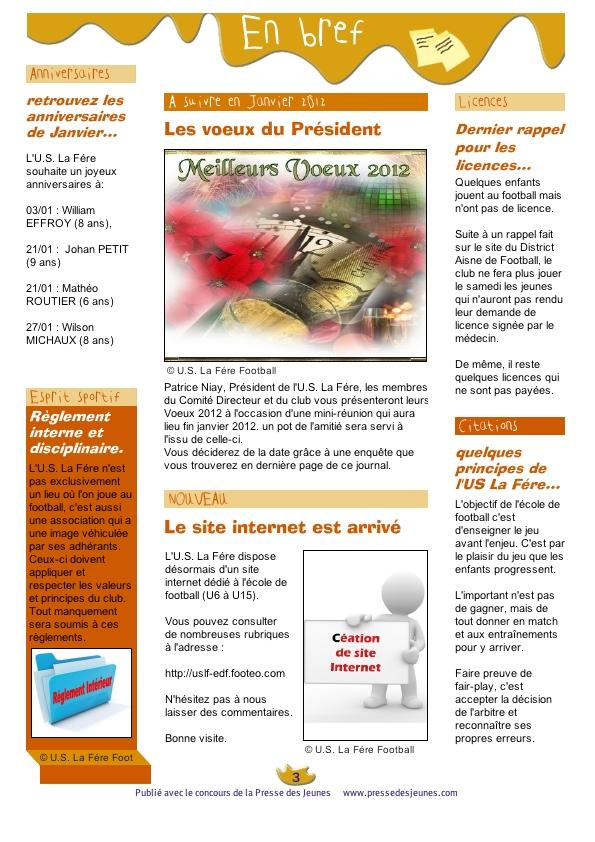 Journal 01 janvier 2012  Page 3