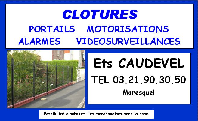 clotures caudevel