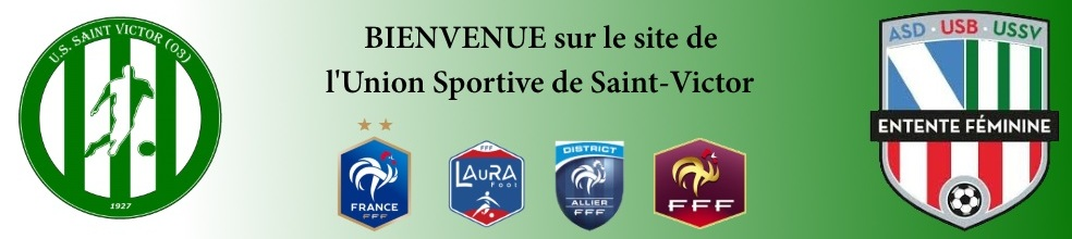 US Saint Victor : site officiel du club de foot de ST VICTOR - footeo