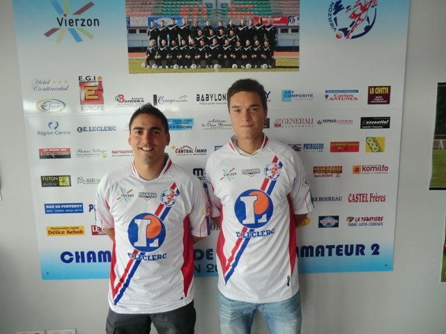 Jean Yves COLOMBIER (à gauche) et Marvin SAMPSON (à droite)